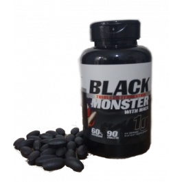 3 x Tribulus Terrestris - Black Monster - com Maca - 1000 mg - 90 caps - Super Nutrition