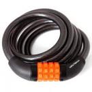 Cadeado Espiral C/ Segredo 12x1,5 m Preto - Maxtrava