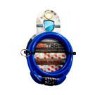 Cadeado Espiral C/ Segredo 6x1,0 m Azul - Maxtrava