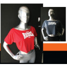 Camiseta Feminina Cropped - Rudel