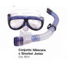 Conjunto Máscara e Snorkel - Junior - StarFlex